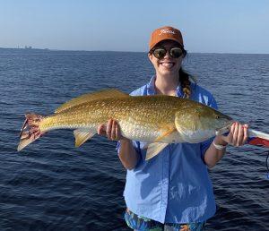 Destin bull redfish