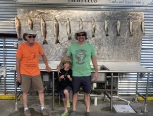 Good day with redfish and speckled trout